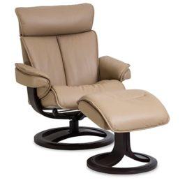 Bergen Sessel von IMG Comfort – Relaxsessel mit Hocker