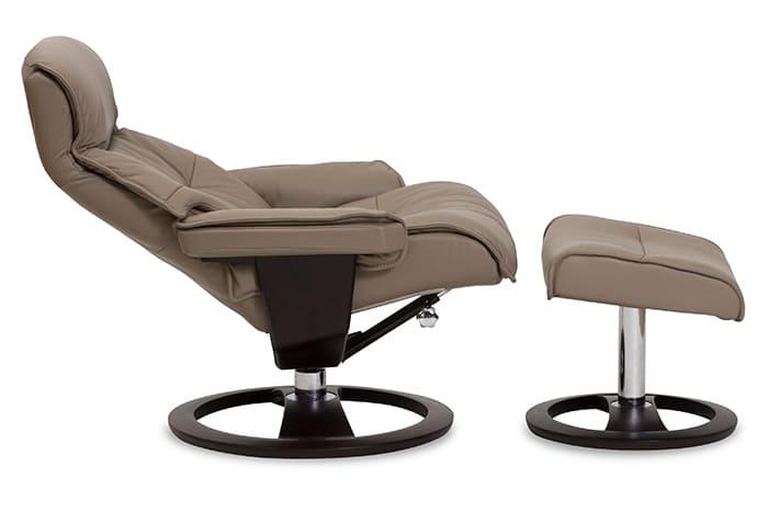 Cortina Sessel von IMG Comfort - Relaxsessel mit Hocker | Merz Couch