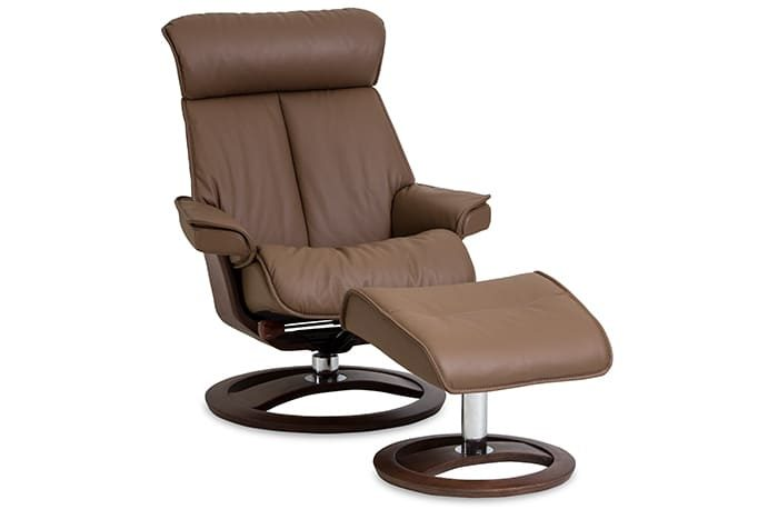 Novel Sessel von IMG Comfort - Relaxsessel mit Hocker