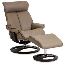 IMG Comfort Novell Sessel – Sessel zum Relaxen mit Hocker