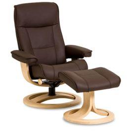 Viking Sessel von IMG Comfort – Relaxsessel mit Hocker