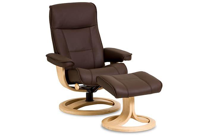 Viking von IMG Comfort - Sessel mit Hocker